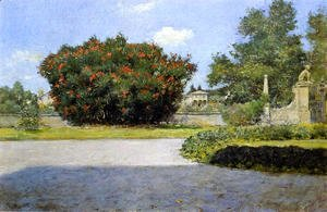 William Merritt Chase - The Big Oleander