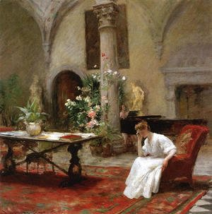William Merritt Chase - The Song