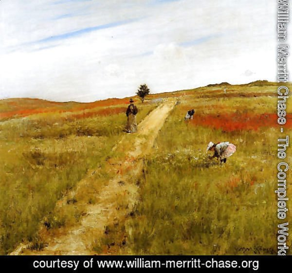 William Merritt Chase - Shinnecock Hills (or Shinnecock Hills Autumn)