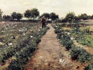 William Merritt Chase - The Potato Patch (or Garden, Shinnecock)