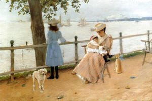 William Merritt Chase - Afternoon by the Sea aka Gravesend Bay