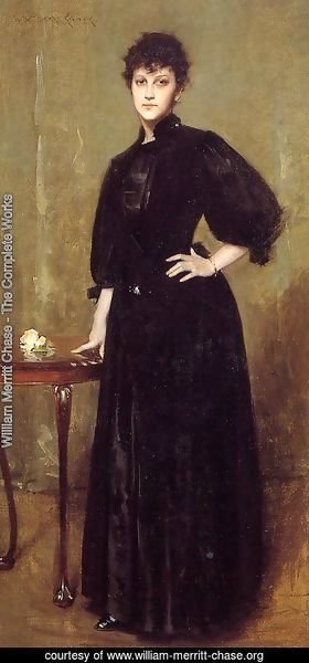 Lady in Black (or Mrs. Leslie Cotton)