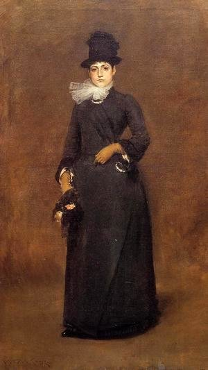 William Merritt Chase - Ready for a Walk: Beatrice Clough Bachmann