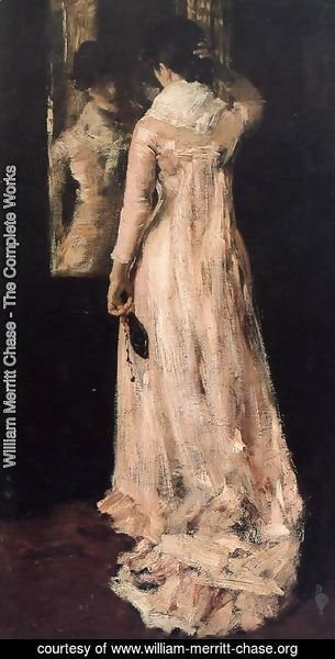 William Merritt Chase - The Mirror