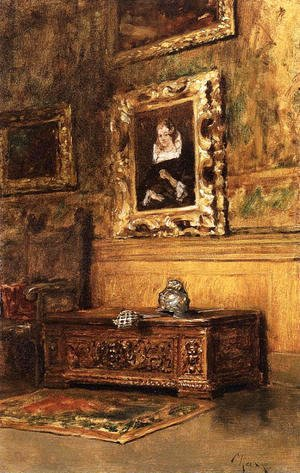 William Merritt Chase - Studio Interior