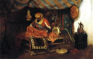 William Merritt Chase - The Moorish Warrior