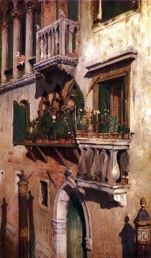 William Merritt Chase - Venice