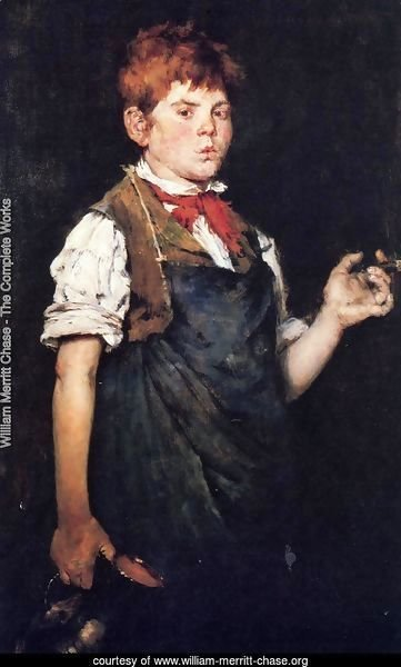 The Apprentice (or Boy Smoking)