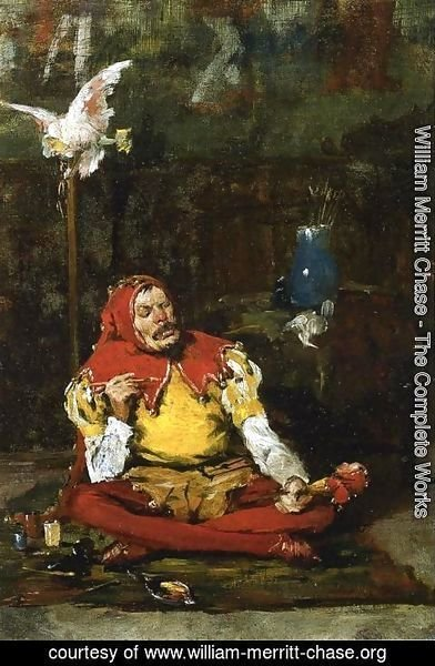 William Merritt Chase - The King's Jester