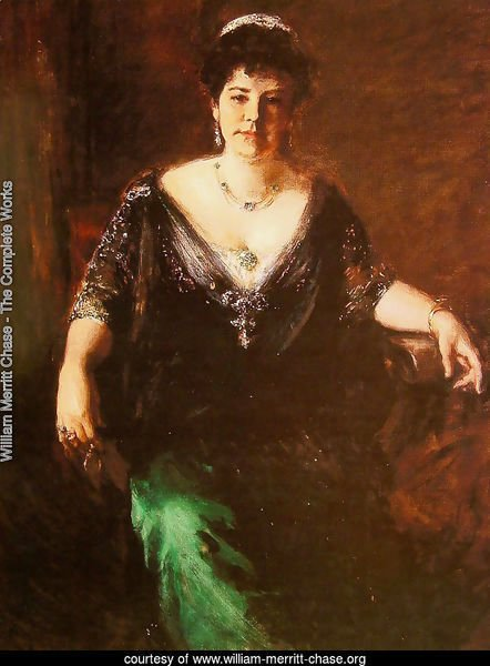 Portrait of Mrs William Merritt Chase