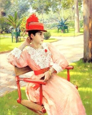 William Merritt Chase - Afternoon in the Park