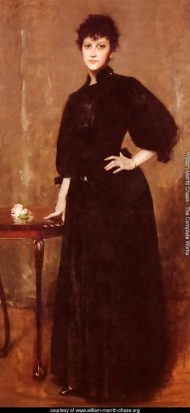 Portrait of Mrs. C. (or Lady in Black; Portrait of a Lady in Black)