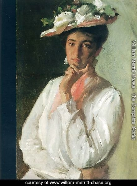 Woman in White, c.1910