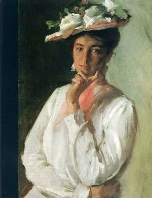 William Merritt Chase - Woman in White, c.1910