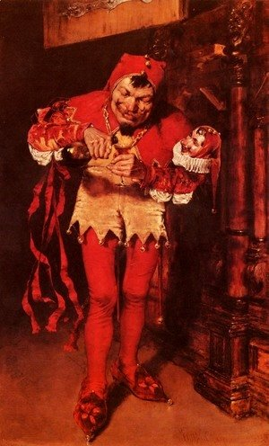 William Merritt Chase - Keying Up - the Court Jester
