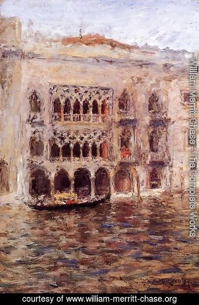 William Merritt Chase - Venice 2