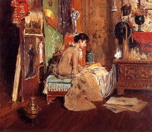 William Merritt Chase - Connoisseur - The Studio Corner