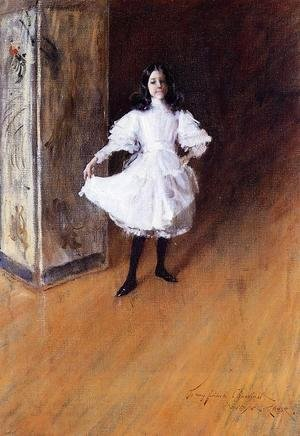William Merritt Chase - Portrait of the Artist's Daughter (Dorothy)