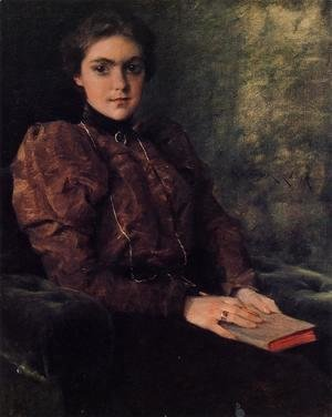Portrait of Miss F. Deforest
