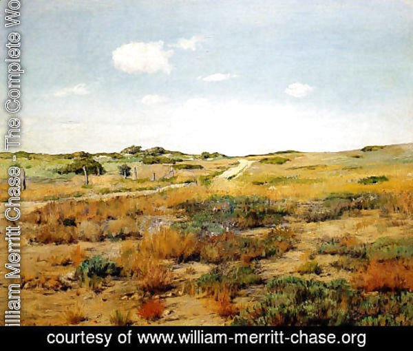 William Merritt Chase - Shinnecock Hills I