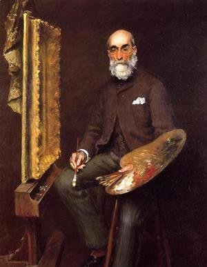 Portrait of Worthington Whittredge
