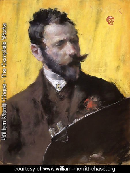 William Merritt Chase - Self Portrait I