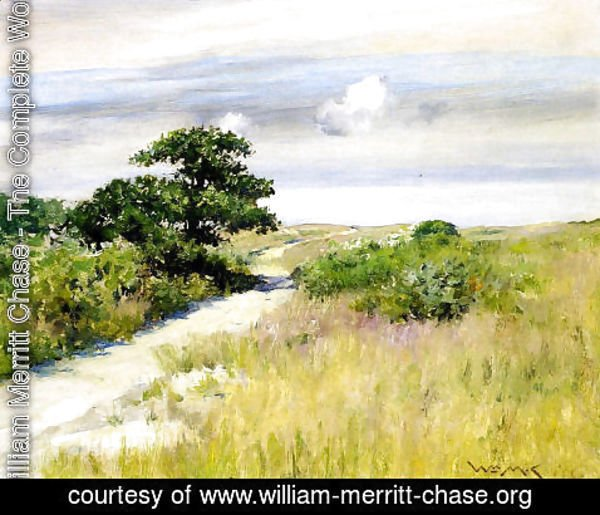 William Merritt Chase - Shinnecock Hills II
