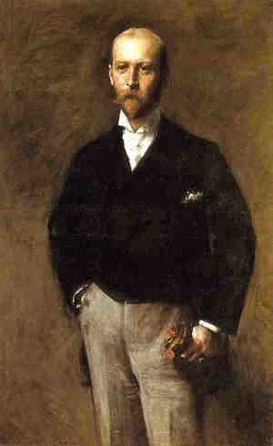 William Merritt Chase - Portrait of William Charles Le Gendre