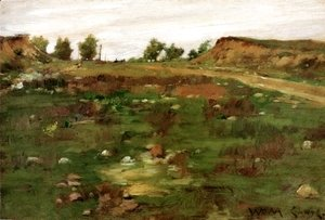 William Merritt Chase - Shinnecock Hills III
