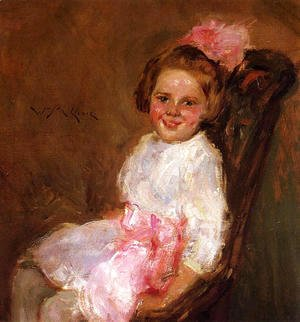 William Merritt Chase - Portrait of Helen, Daughter of the Artist