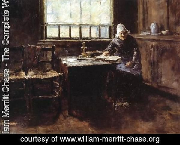 William Merritt Chase - When One is Old