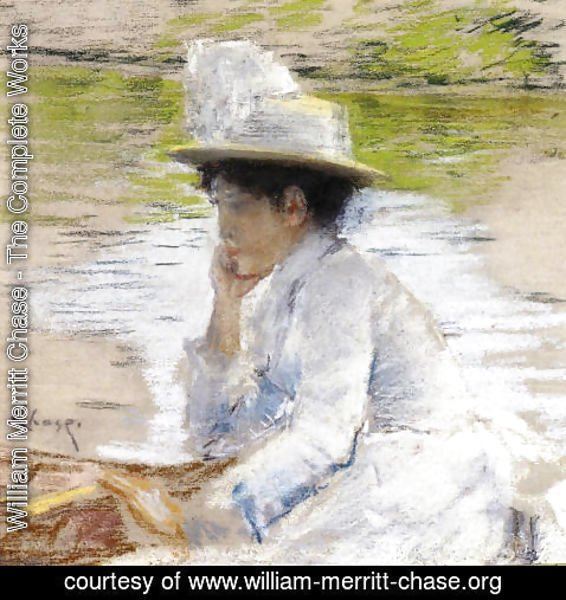 William Merritt Chase - Portrait of Mrs. Chase