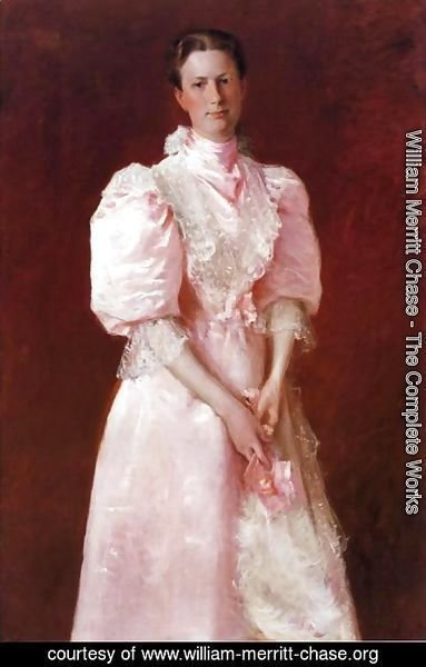 William Merritt Chase - A Study in Pink