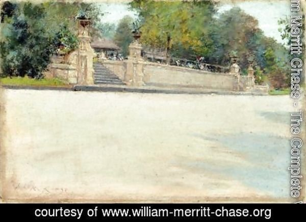 William Merritt Chase - Prospect Park, Brooklyn III