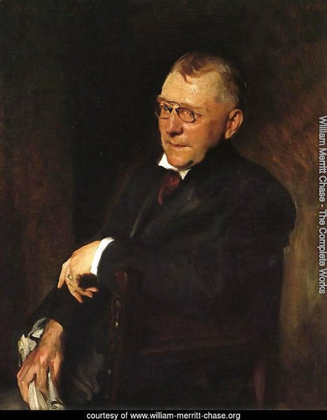 Portrait of James Whitcomb Riley