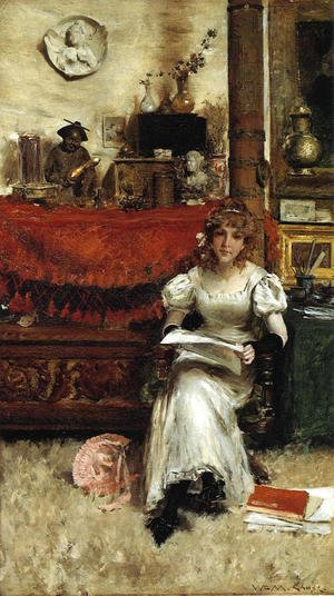 William Merritt Chase - In the Studio III