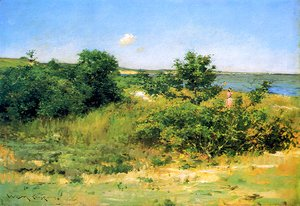 William Merritt Chase - Shinnecock Hills, Peconic Bay