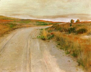 William Merritt Chase - At Shinnecock Hills