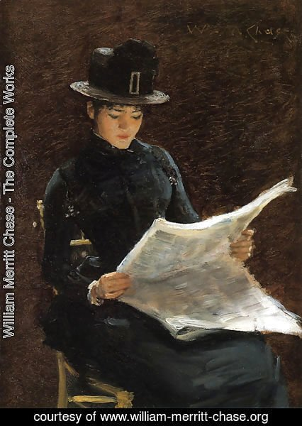 William Merritt Chase - The Morning News