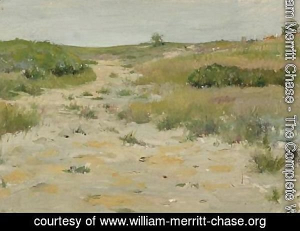 William Merritt Chase - View of Shinnecock Hills