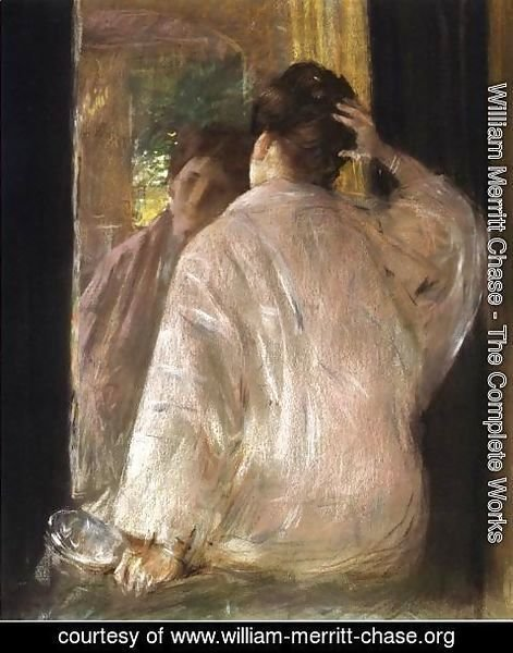 William Merritt Chase - Dorothy from the back