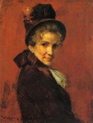 William Merritt Chase - Portrait of a Woman 2