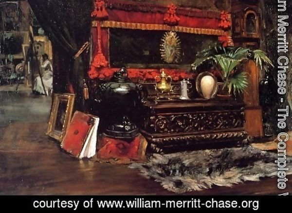 William Merritt Chase - The Inner Studio, Tenth Street 3