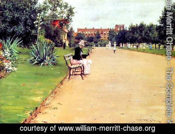 William Merritt Chase - The Park
