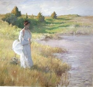 William Merritt Chase - An Afternoon Stroll