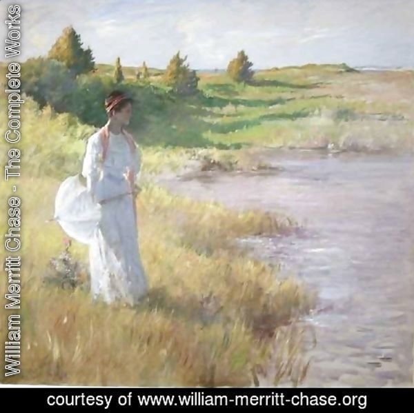 William Merritt Chase - An Afternoon Stroll 2