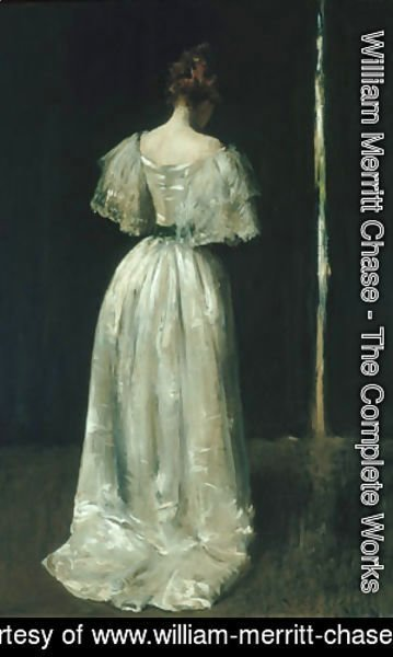 William Merritt Chase - Seventeenth Century Lady 1895