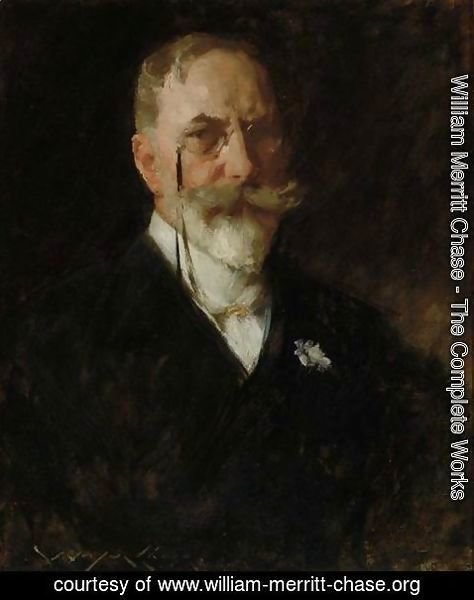William Merritt Chase - Self-Portrait 2