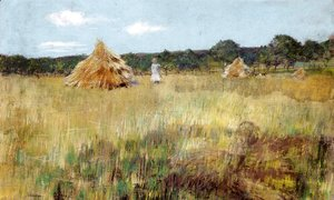 William Merritt Chase - Grain Field, Shinnecock Hills