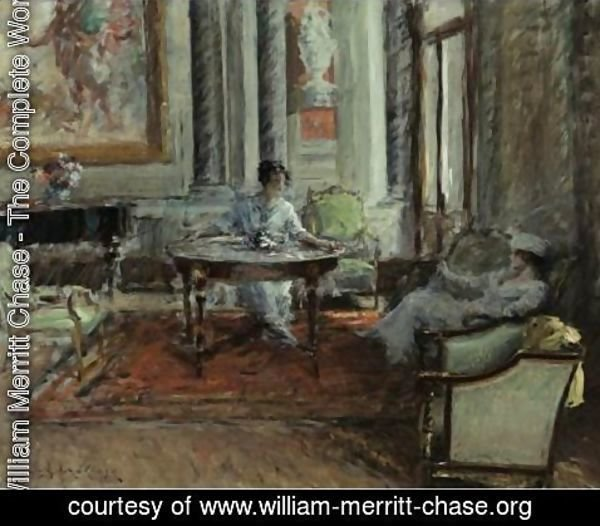 William Merritt Chase - Friendly Advice